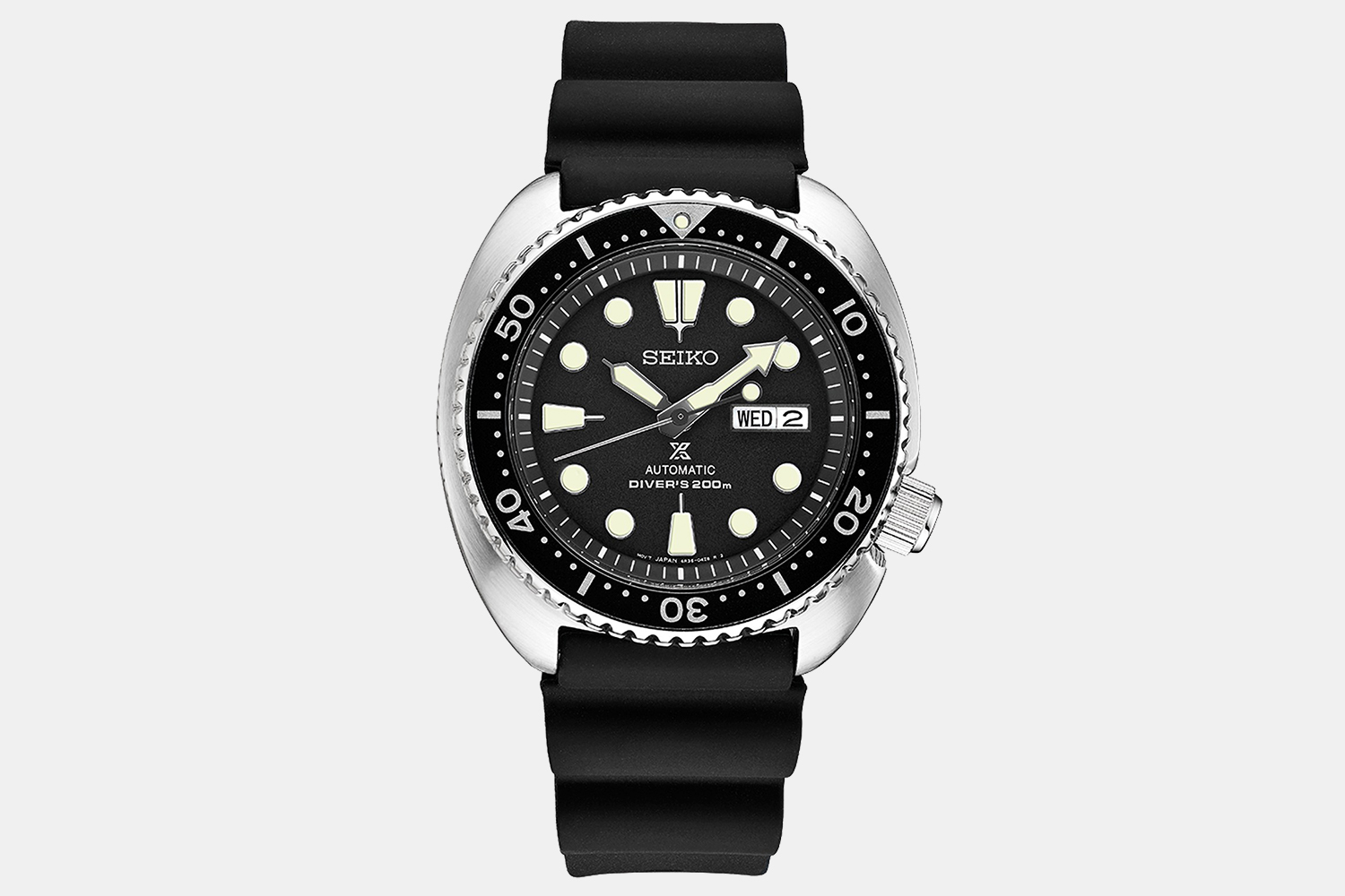 Seiko Prospex Diver With Rounded Stainless Steel Case