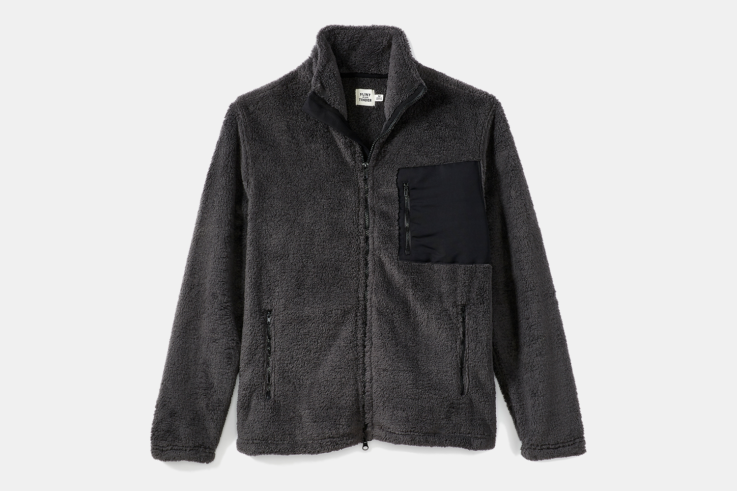 Flint and Tinder Men's Sherpa Full Zip Jacket
