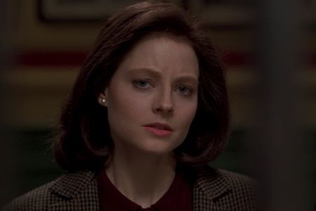 "Jodie Foster as Clarice Starling in ""The Silence of the Lambs"""