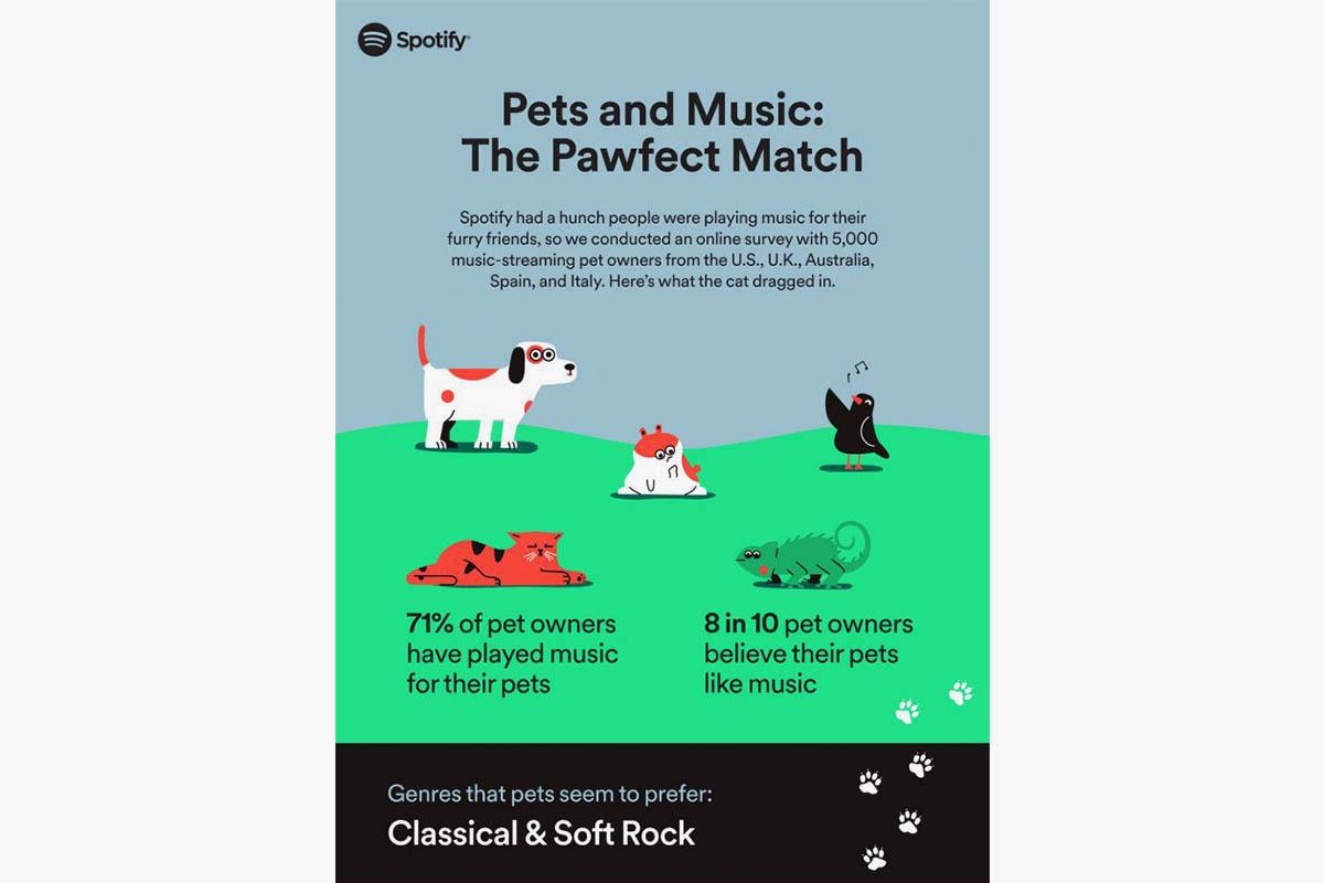 Spotify pet playlist