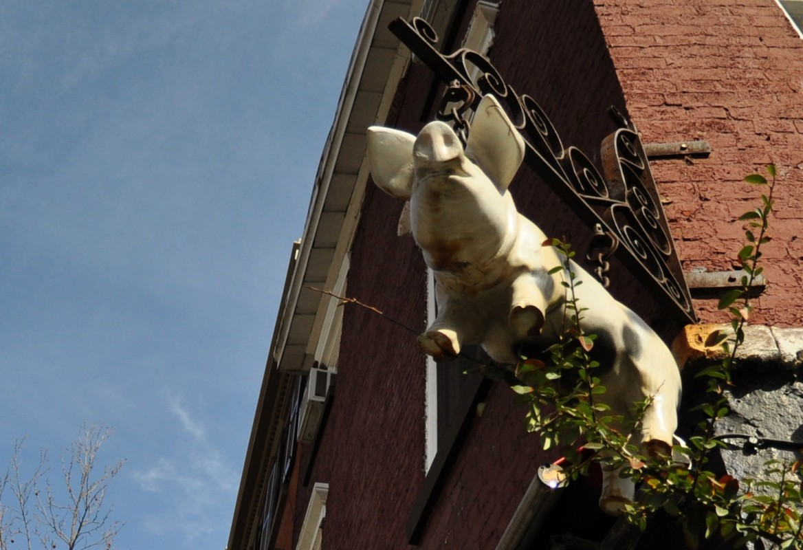 The Spotted Pig restaurant in New York City
