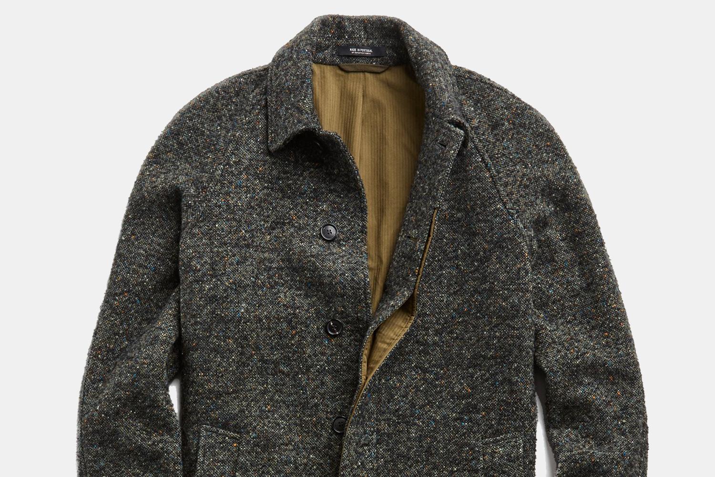 Todd Snyder Men's Italian Wool Fleck Topcoat