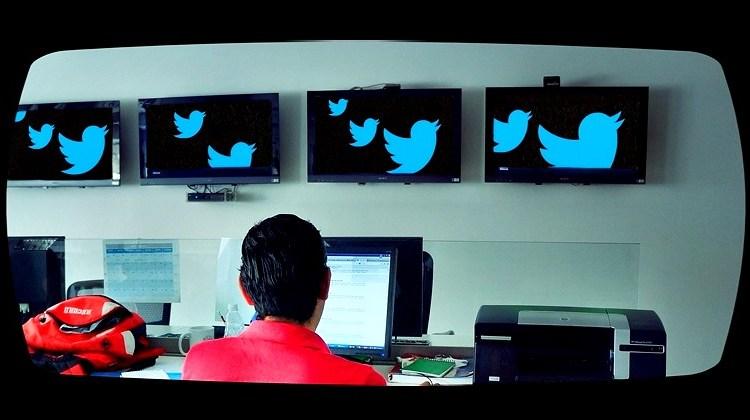Twitter on screens