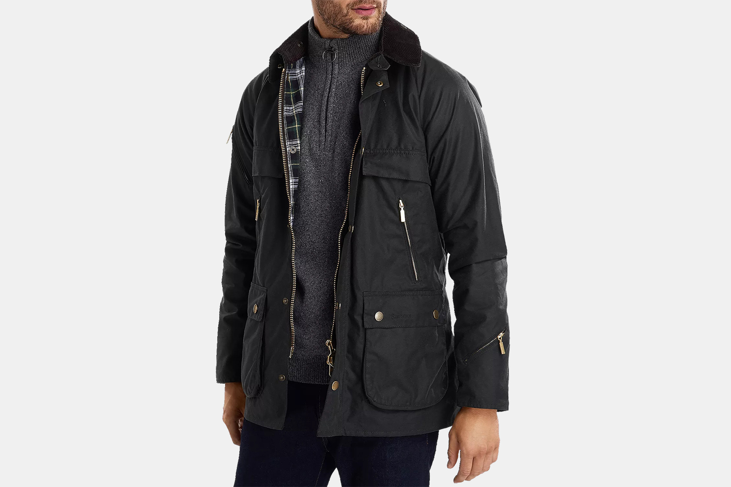 Men's Barbour Icons Bedale Waxed Jacket