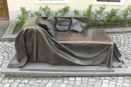 Sigmund Freud monument