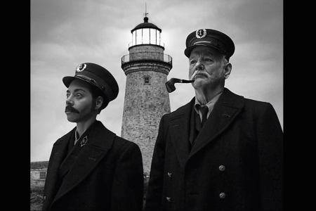 "Watch Aubrey Plaza and Bill Murray's ""Lighthouse"" Spoof"