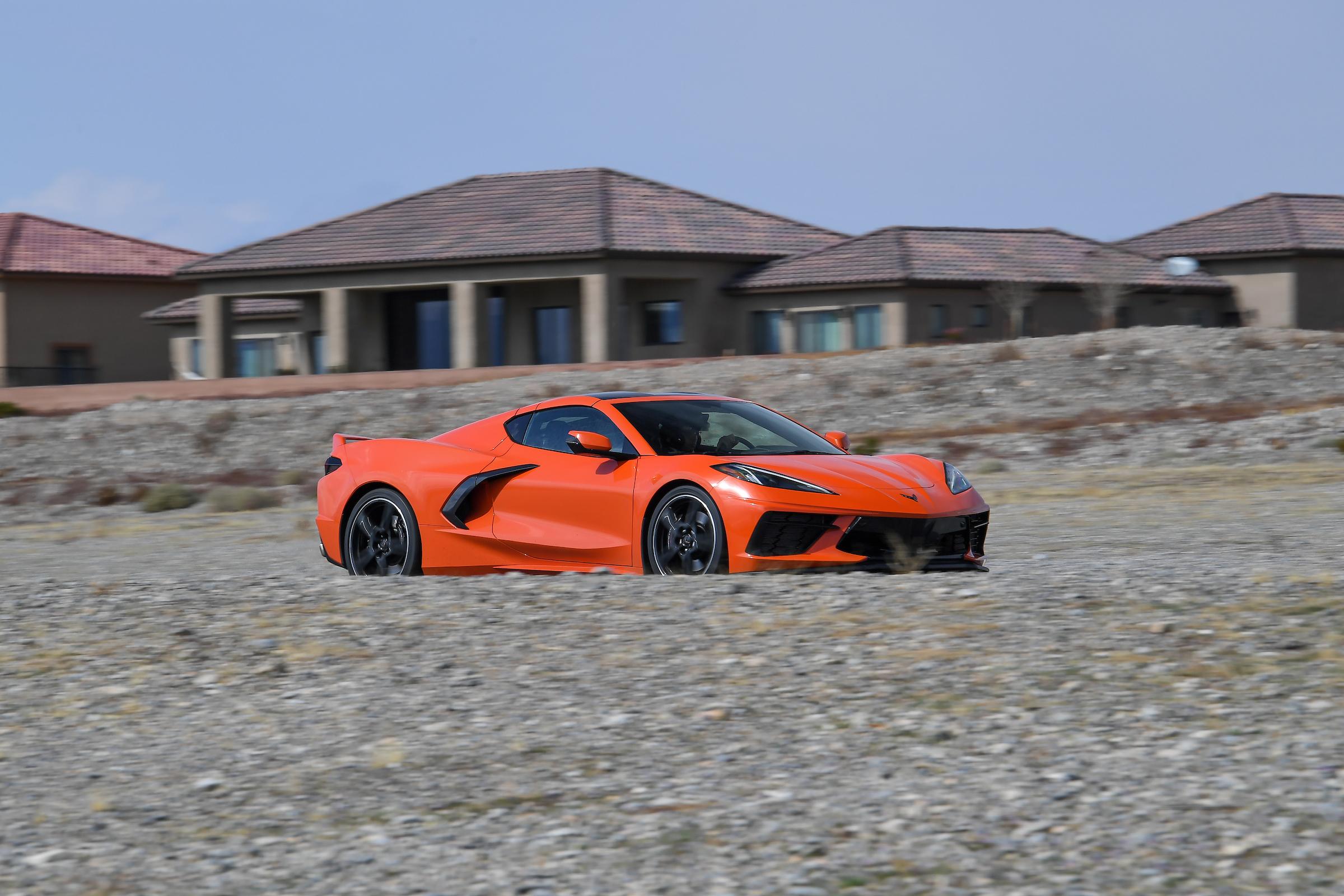 corvette c8 track course