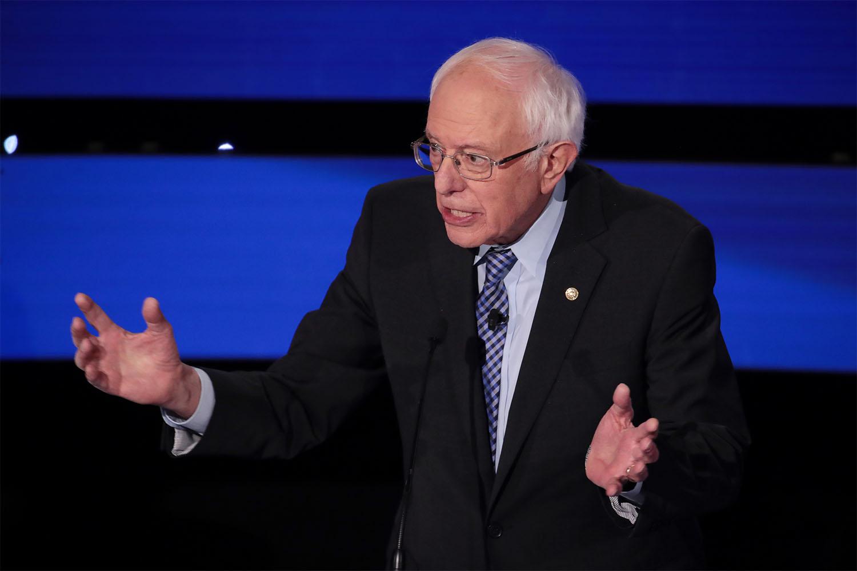 bernie sanders suit guide democratic debate