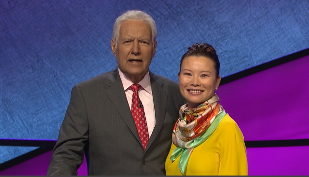 Woman Who Learned English From 'Jeopardy!' Appears on Show