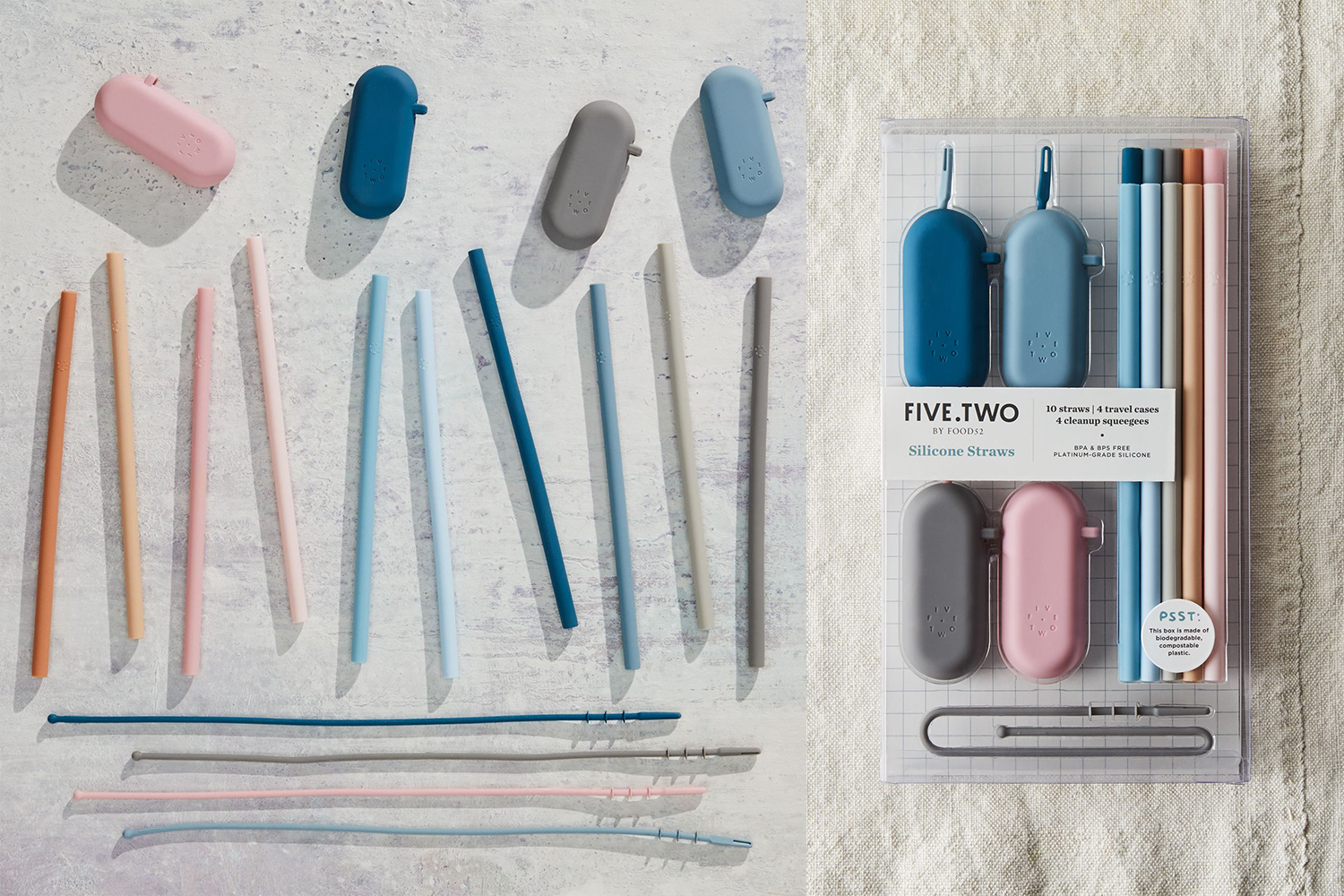 Best reusable silicone straws