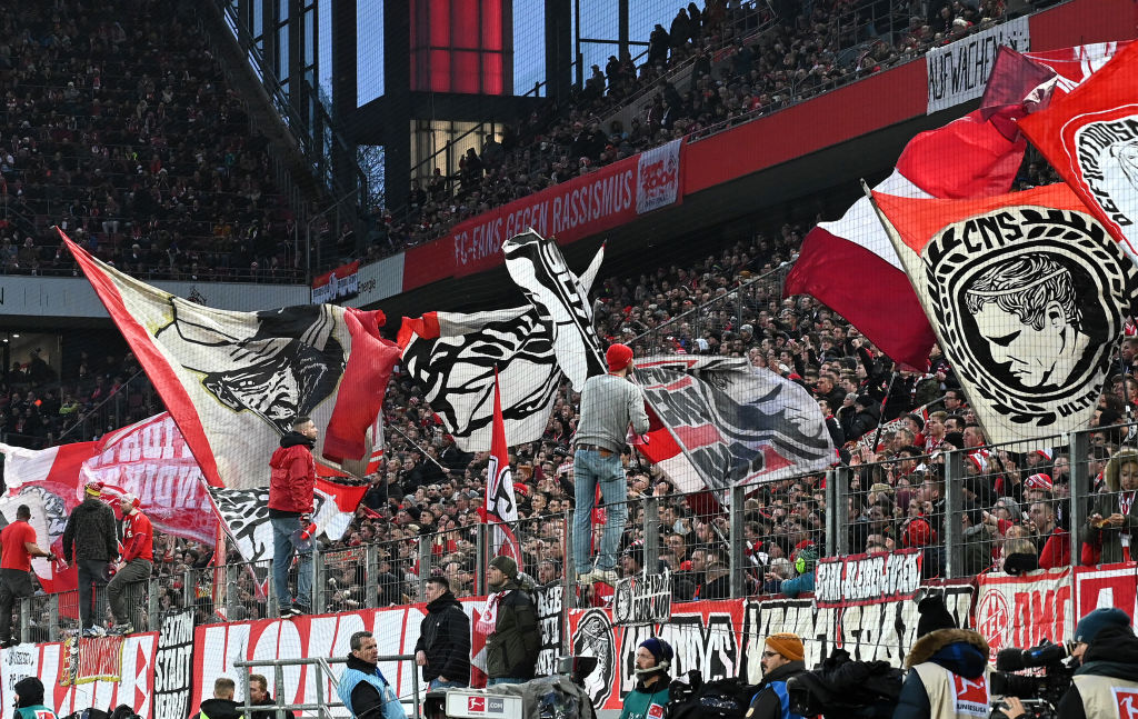 1. FC Köln supporters