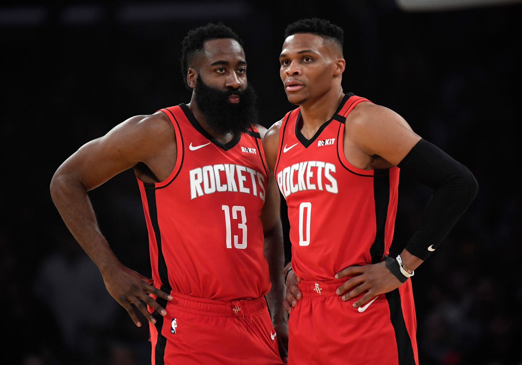 James Harden Russell Westbrook