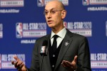 Adam Silver at 2020 All-Star