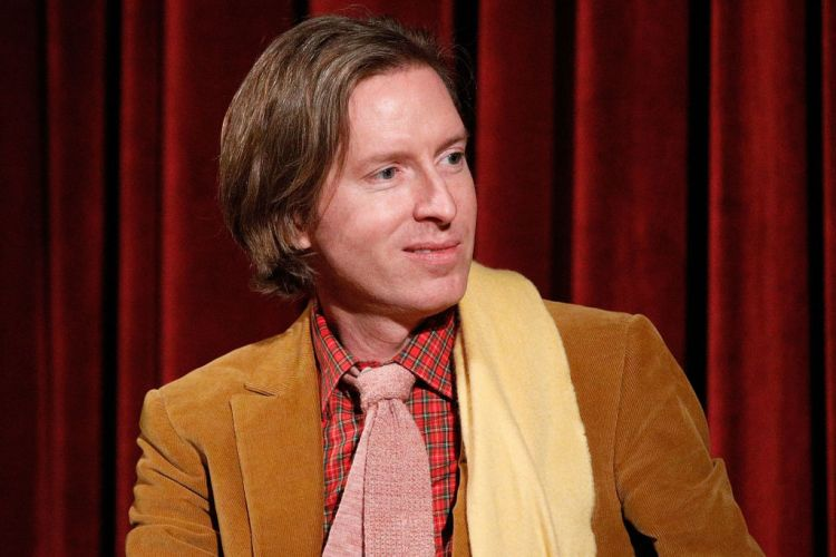 Wes Anderson on stage during The Academy of Motion Picture Arts & Sciences Official Academy Screening of Isle of Dogs on March 22, 2018 in New York City.  (Photo by Lars Niki/Getty Images)