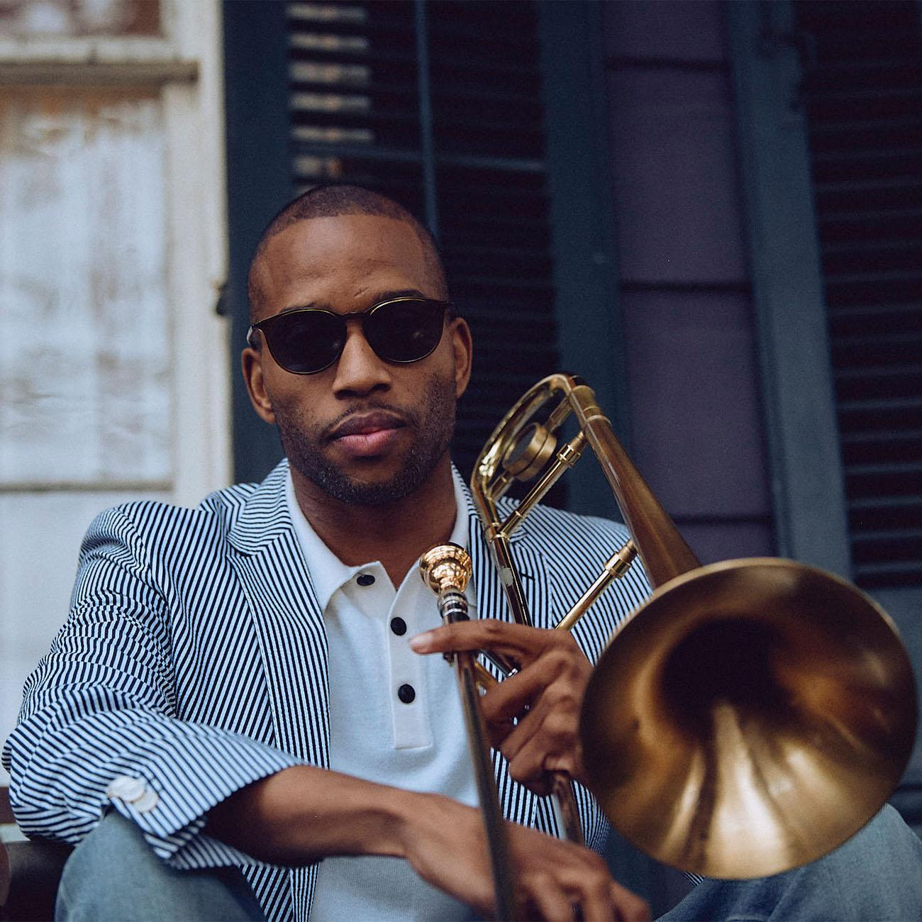 Trombone Shorty New Orleans Neiman Marcus Menswear Hugo Boss