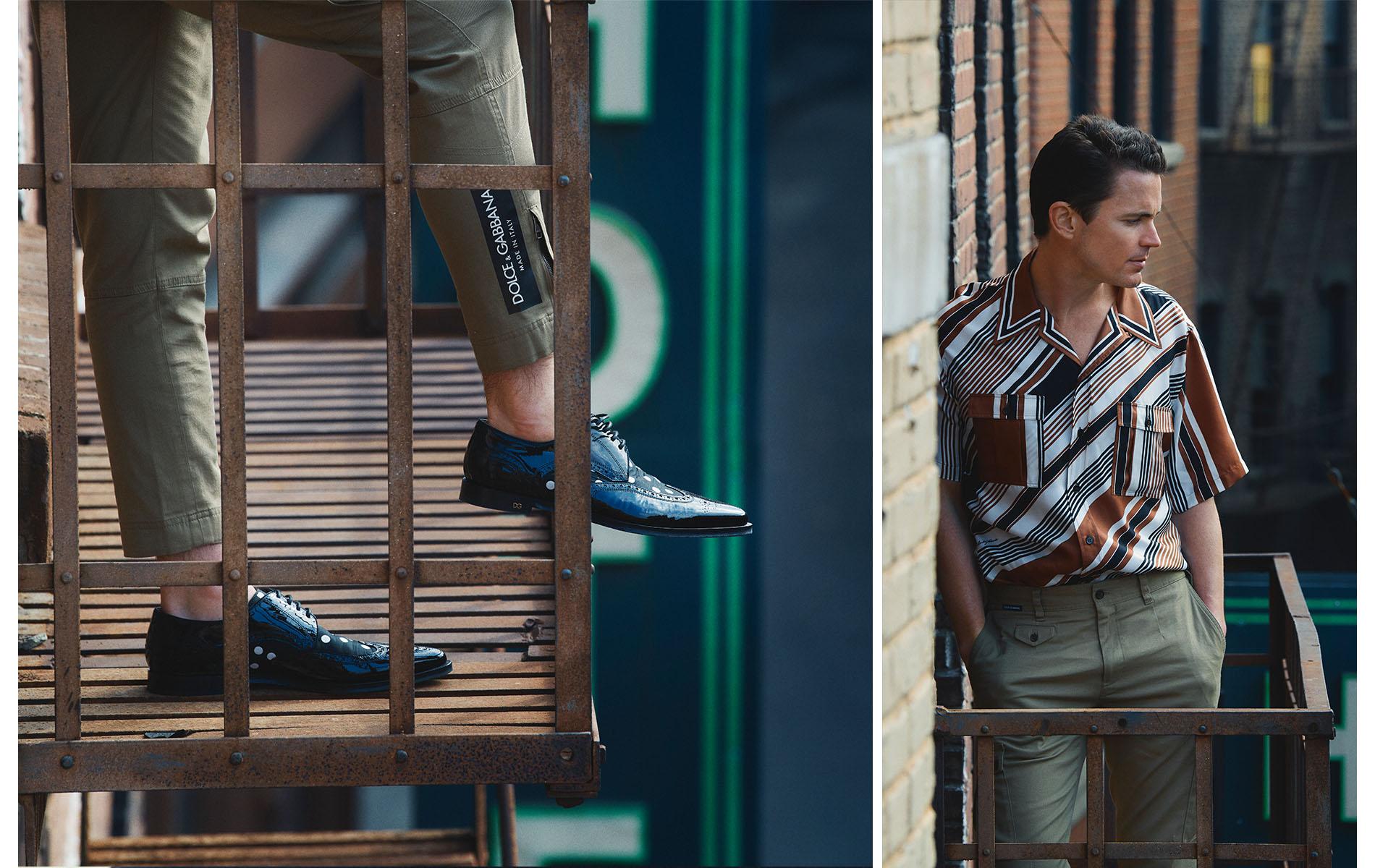 Matt Bomer Los Angeles Neiman Marcus Menswear Dolce & Gabbana Warner Brothers
