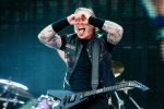 James Hetfield performing onstage