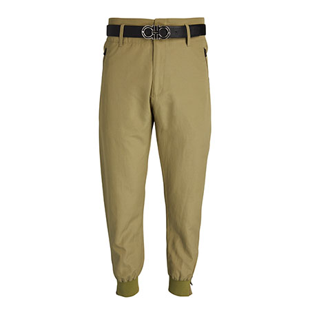 High-Rise Tapered Trousers Salvatore Ferragamo