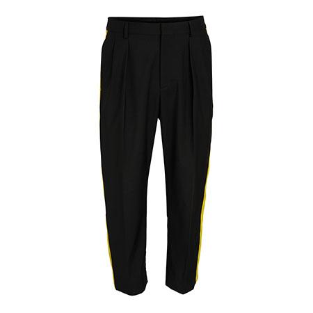 Side Stripe Ankle Pants Valentino