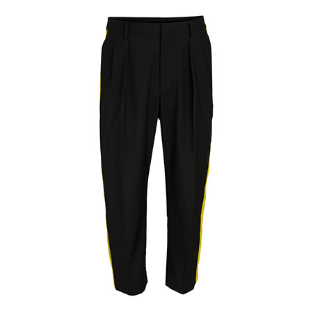 Side Stripe Ankle Pants Valentino