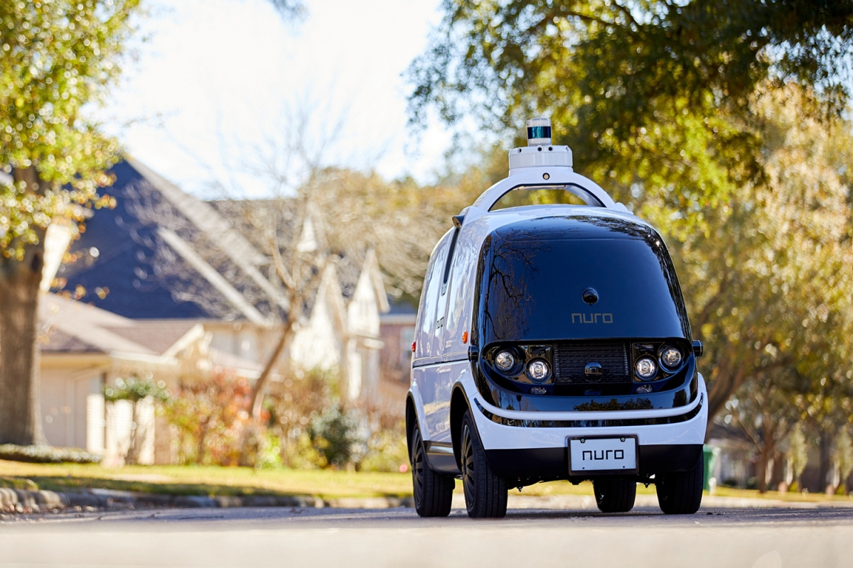 Nuro R2 Self-Driving Delivery Vehicle