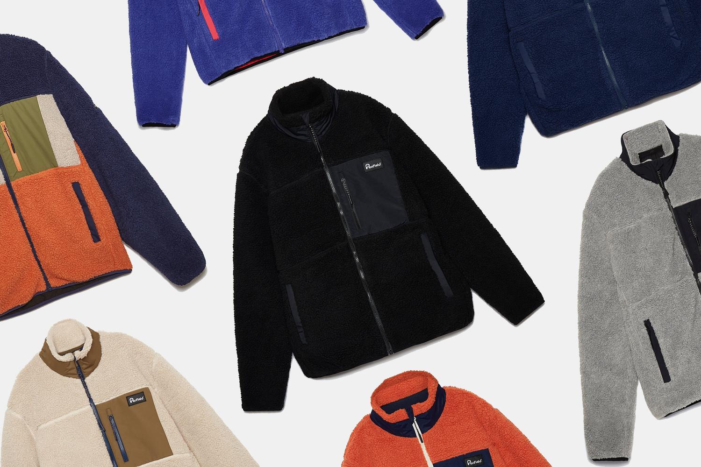 Penfield Sherpa fleece jackets