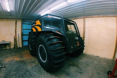 Sherp Russian ATV in Bemidji, Minnesota