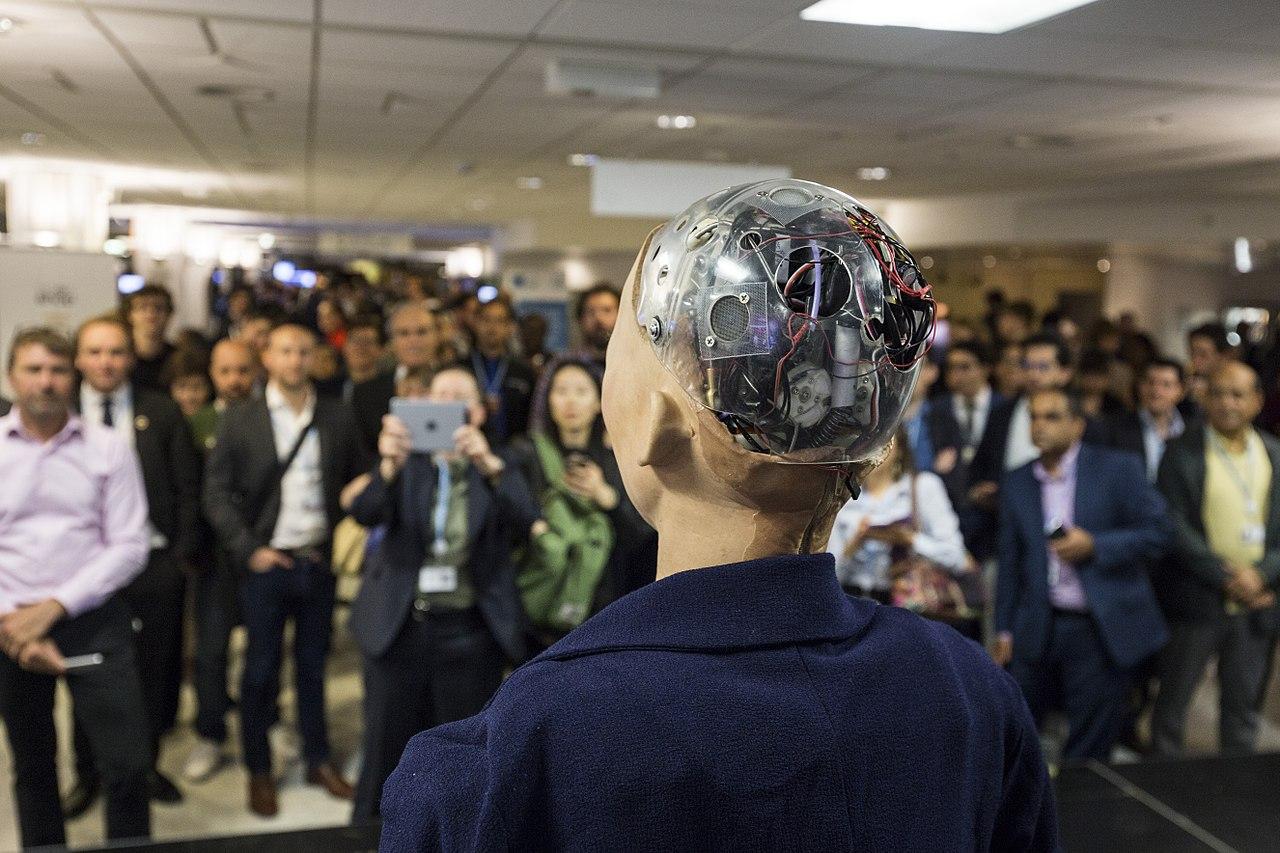 Sophia's computer brain
