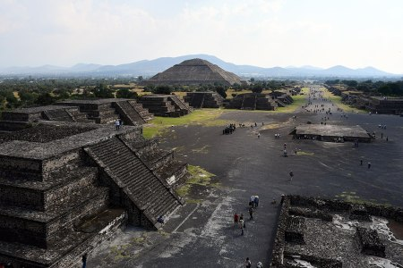 Teotihuacan structures