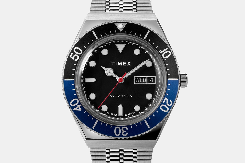 Timex M79 Automatic Watch Batman Bezel
