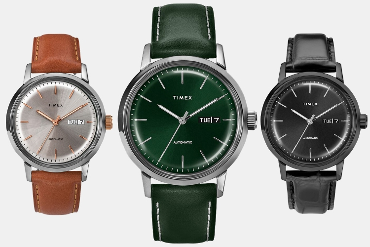 Timex Marlin Automatic Watch New Colors