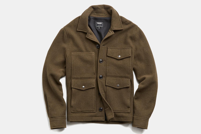 Todd Snyder Men's Wool Cruiser Jacket