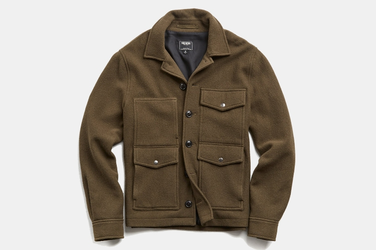 Todd Snyder Men's Wool Cruiser Jacket
