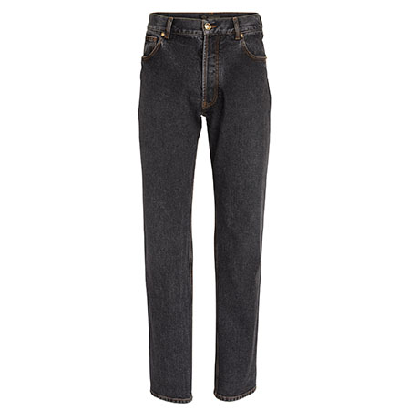 Relaxed Wash Denim Jeans Versace