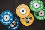 Weightlifting bench press plates