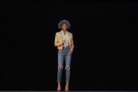 The Whitney Houston hologram, courtesy of Base Hologram.