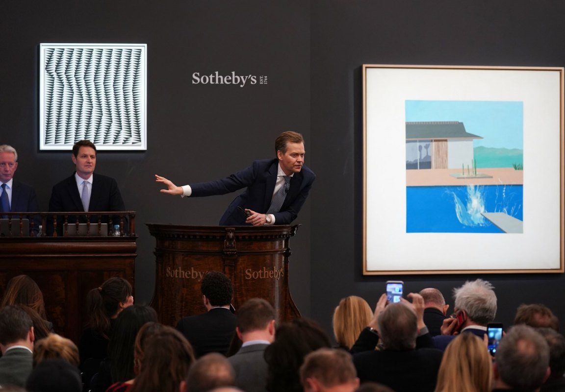 What Can London's Latest Art Auctions Tell Us About the Contemporary Art Market? - InsideHook
