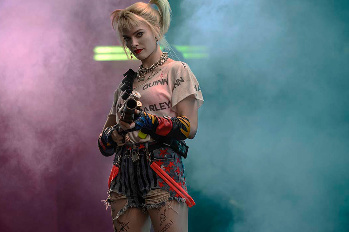 Margot Robbie as Harley Quinn Birds of Prey