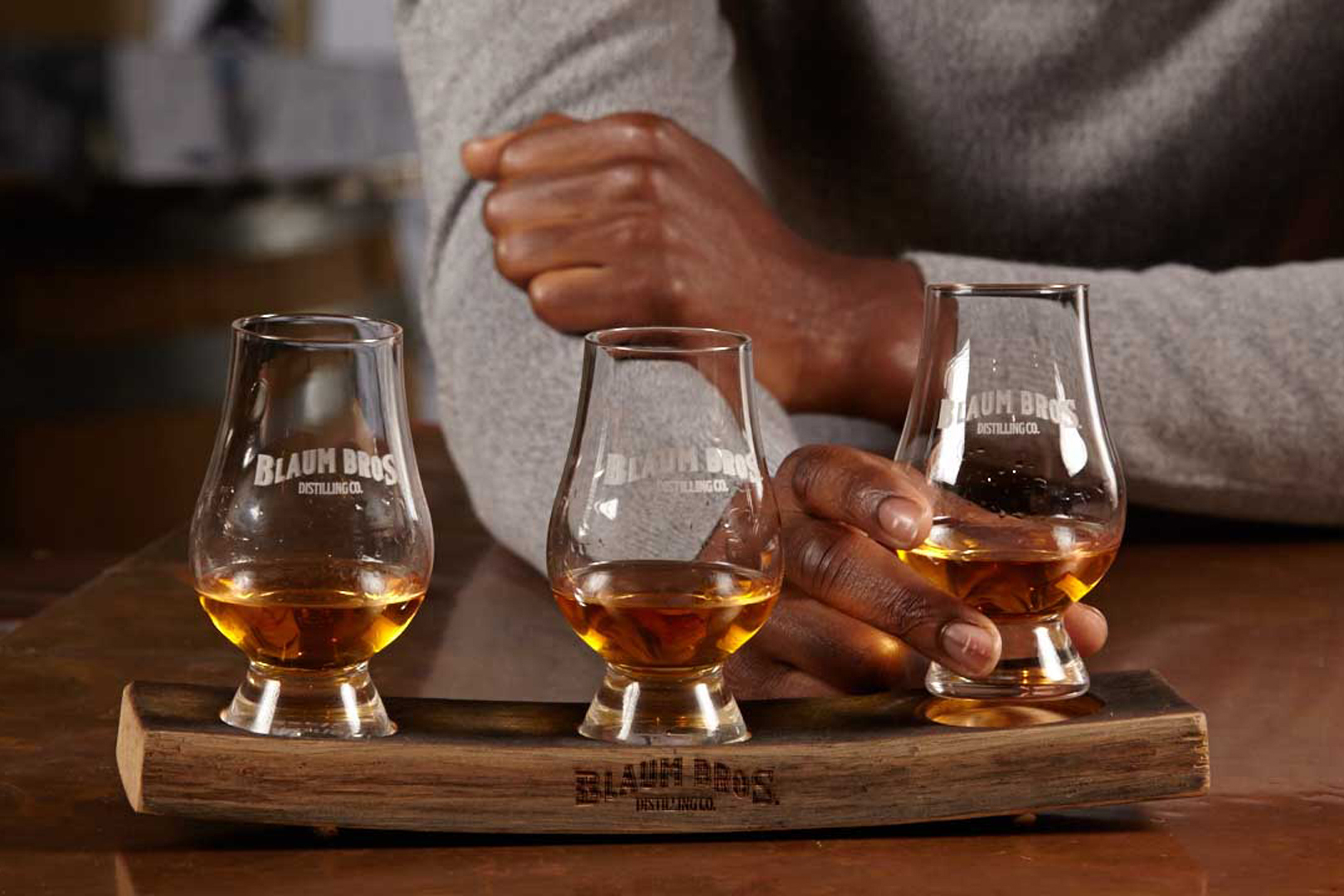 blaum bros whiskey flight