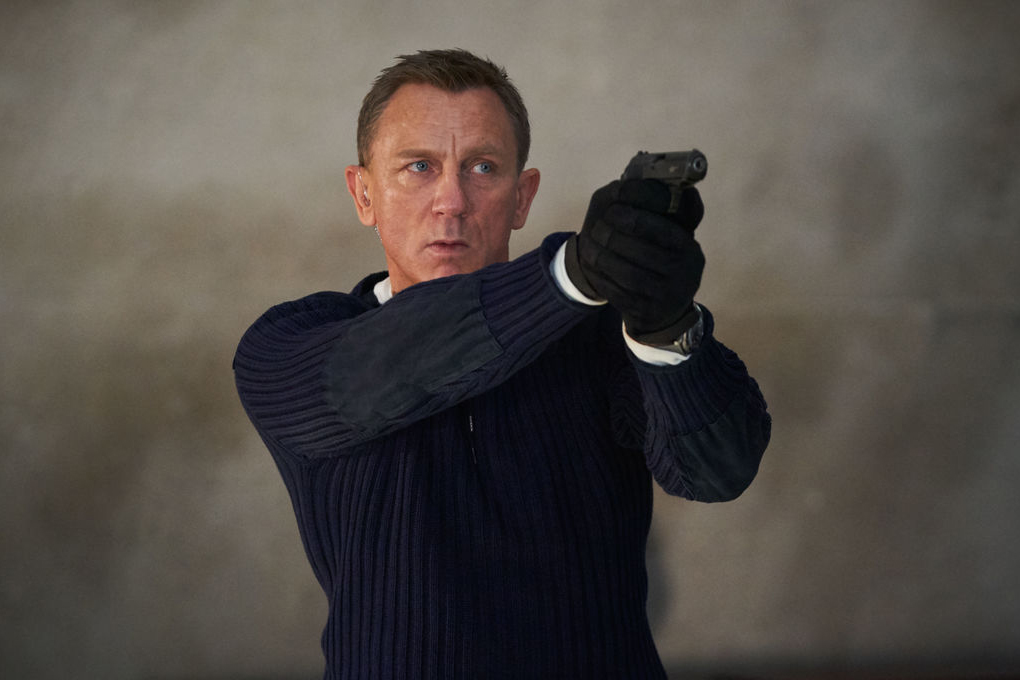 "Daniel Craig will makes his final appearance as James Bond in ""No Time to Die"""