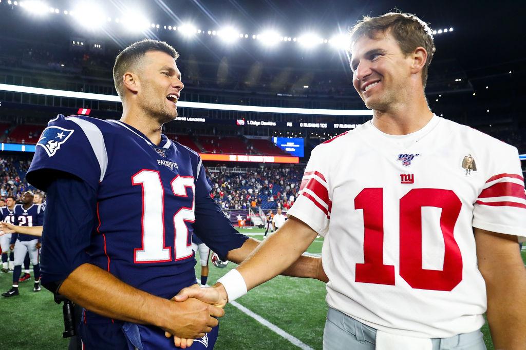 Tom Brady Rumored as Eli Manning's Successor for Giants