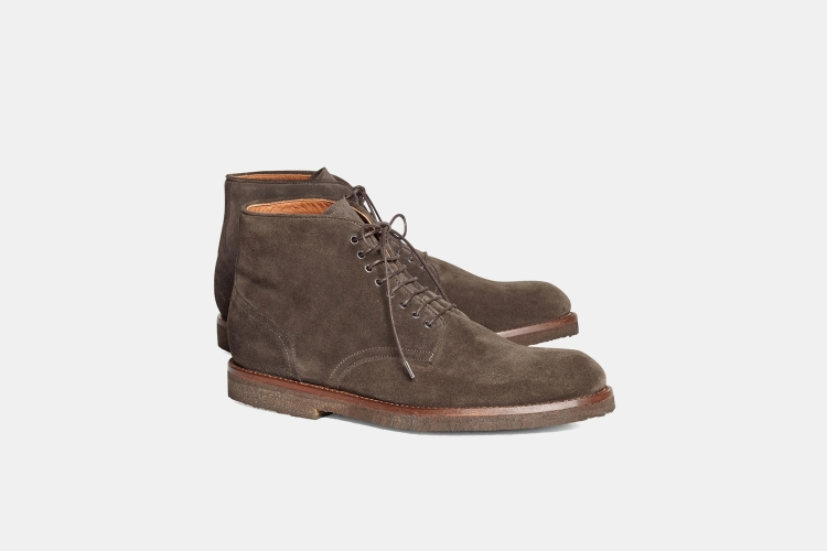 Deal: These Brooks Brothers Suede Boots Are $200 Off