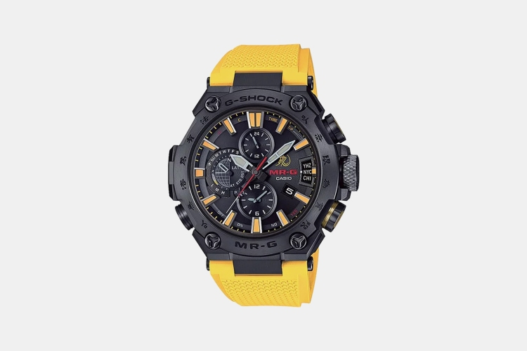 Bruce Lee Casio G-Shock MRG-G2000BL