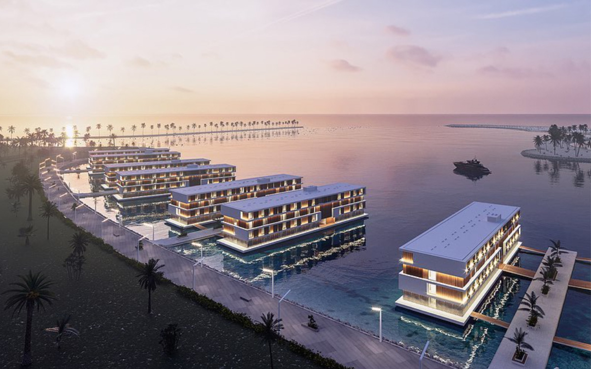 The 2022 FIFA World Cup Will Feature Floating Hotels