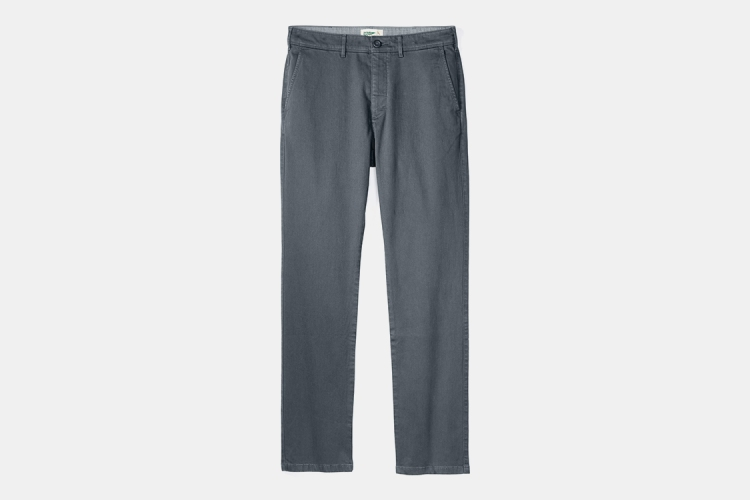 Huckberry Label Wellen Now Makes Hyper-Soft Chinos