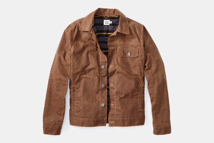 Deal: Huckberry's Waxed Trucker Jacket Is $42 Off