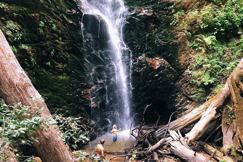 The Berry Creek Falls