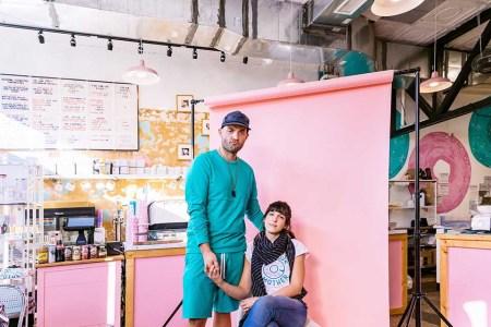 Andrew Dana and  Daniela Moreira (Photo credit: Obie Okolo)
