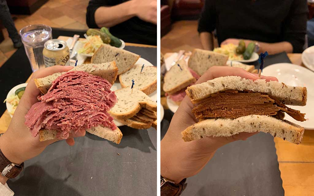 fake corned beef sarge's deli