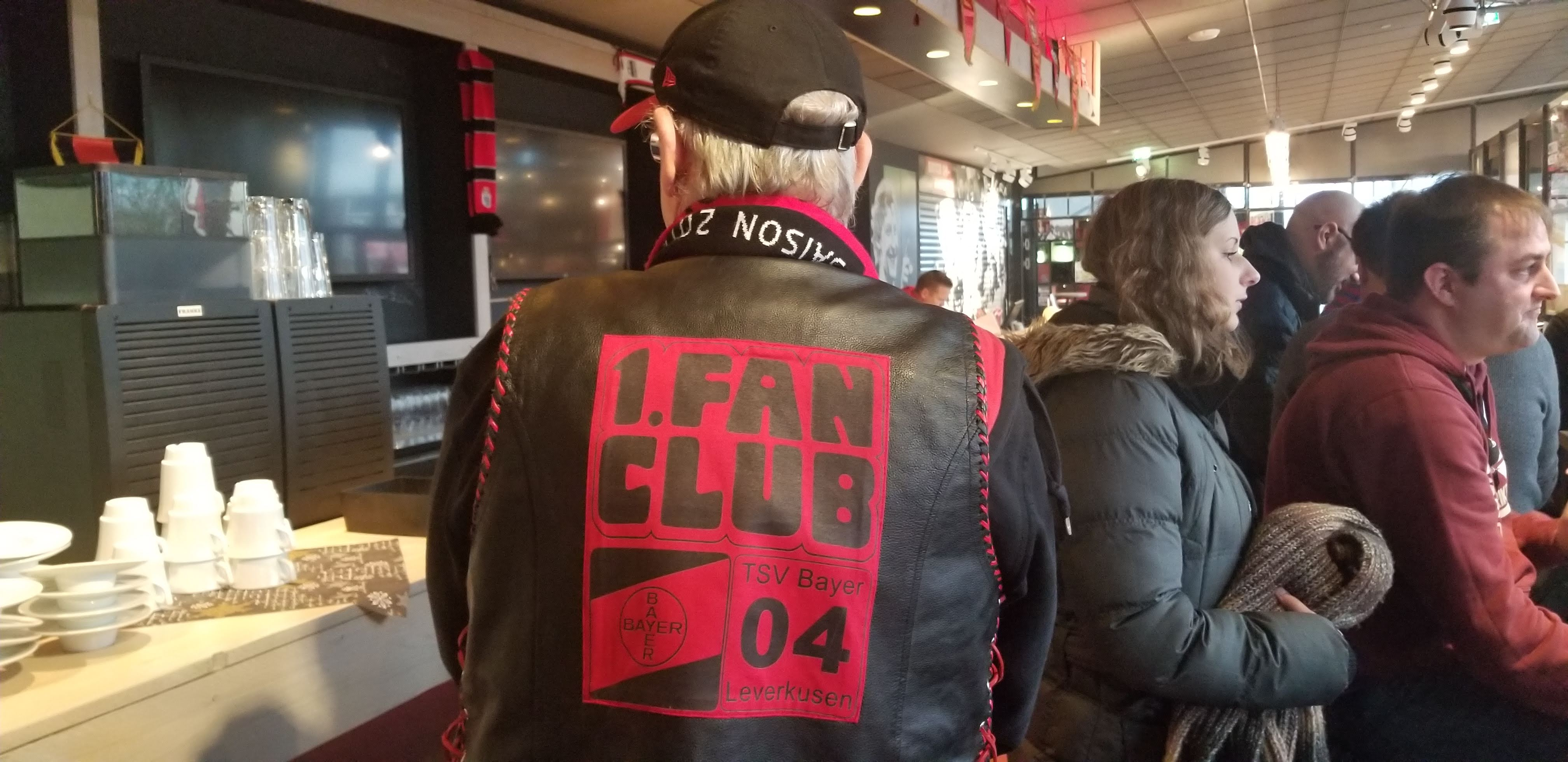 Bayer 04 Leverkusen supporter